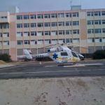 Explorer posé dans un hôpital