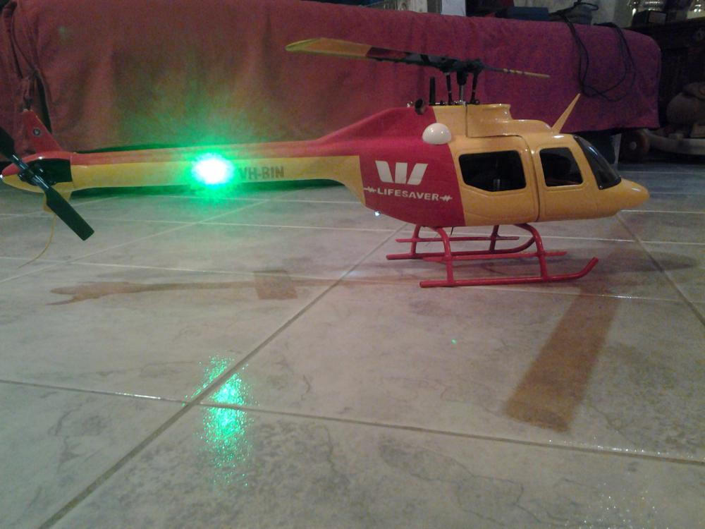 ma 1er maquette d helico