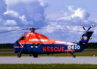 Sikorsky h34 Rescue RCAF 630 1:10