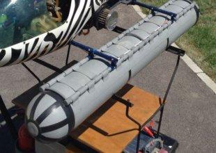 flotteurs alouette II ou III vario benzin