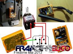 Module Orange DSM2 FUTABA