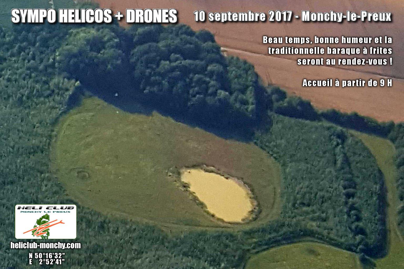 SYMPO HELICOS + DRONES - MONCHY-LE-PREUX (62) - 10 SEPTEMBRE 2017